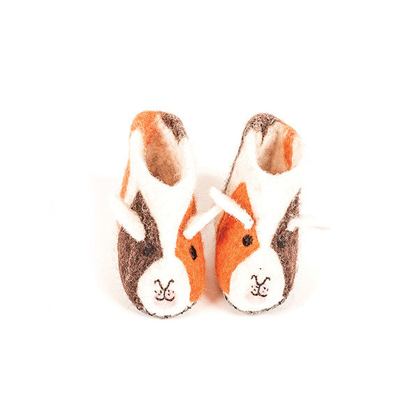 SEW HEART FELT Lettice the Guinea Pig Children's Slippers</br>放牧小羊羊毛氈鞋 - 小哈姆 (童鞋) - Shark Tank Taiwan