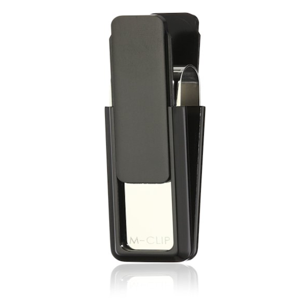 MClip - Black Solid Slide Ultralight V2 Anodized Money Clip - Shark Tank Taiwan