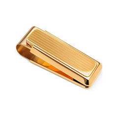 MClip - New Yorker Gold Channeled Money Clip - Shark Tank Taiwan