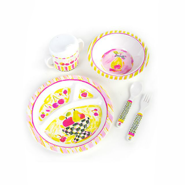 MACKENZIE-CHILDS Children's Dinnerware Set <br/>兒童餐具組 (共2款) - Shark Tank Taiwan