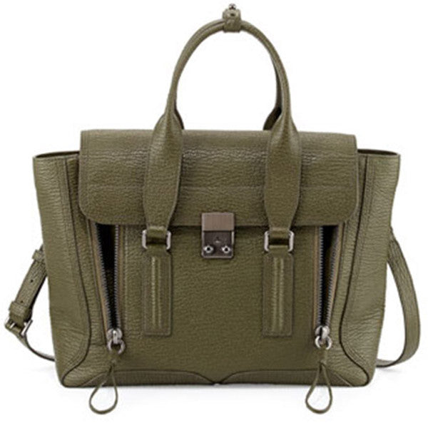 3.1 PHILLIP LIM Pashli Medium Satchel (AF15-0179SKC) - Shark Tank Taiwan