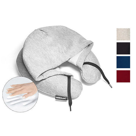 HOODIEPILLOW® Memory Foam Travel Hoodie Pillow<br/>連帽記憶枕 (共4色)