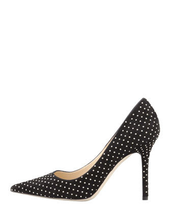 Jimmy Choo - Abel Studded Point-Toe Pump - Shark Tank Taiwan