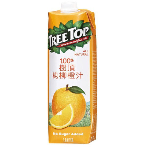 TREE TOP All Natural Orange Juice<br/>樹頂100%純柳橙汁 1L (20入/組)