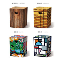 REMEMBER Cardboard Stool - Overnight<br/>椅假亂真 - 環保紙凳 I (共4款) - Shark Tank Taiwan