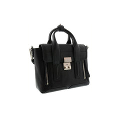 3.1 PHILLIP LIM Pashli Mini Satchel (AC00-0226SKC-BLACK-NICKEL) - Shark Tank Taiwan