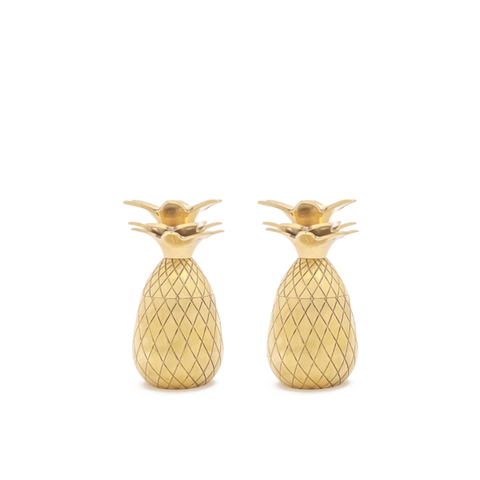 W&P DESIGN Pineapple Shot Glasses<br/>鳳梨造型一口杯組 - 60ml (共3色)
