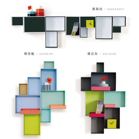 REMEMBER Pappap Wall Shelf<br/>解構組盒 - 壁掛架 (共3款) - Shark Tank Taiwan
