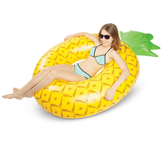 BIG MOUTH Giant Pineapple Pool Float<br/>造型游泳圈 - 鳳梨款