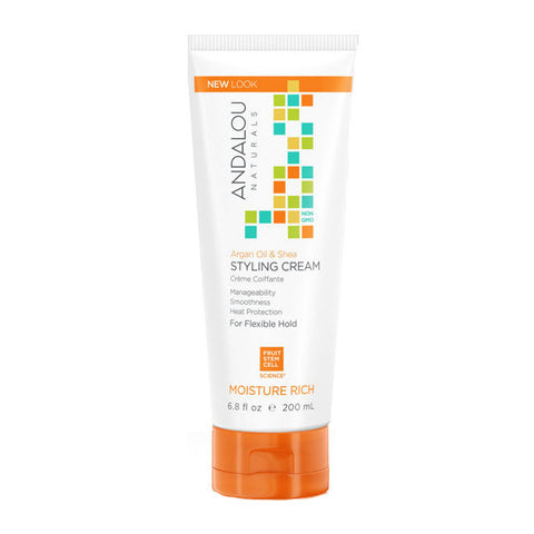 ANDALOU Argan & Sweet Orange Styling Cream<br/>甜橙堅果護髮造型霜 200ml