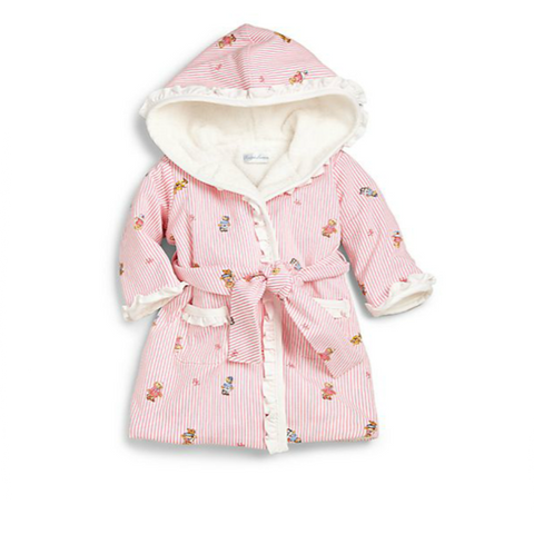 Ralph Lauren - Infant's Bear Terry Bathrobe