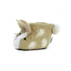 SEW HEART FELT Ruby Rabbit Children's Slippers</br>放牧小羊羊毛氈鞋 - 紅寶兔 (童鞋) - Shark Tank Taiwan
