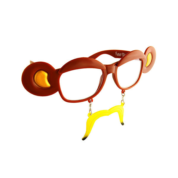 SUN-STACHES Party Glasses<br/>百變派對創意眼鏡 - 香蕉猴 - Shark Tank Taiwan