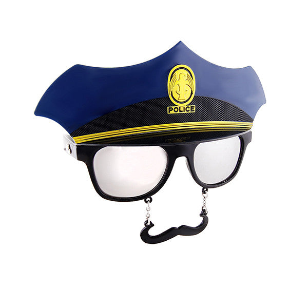 SUN-STACHES Party Glasses<br/>百變派對創意眼鏡 - 警長 - Shark Tank Taiwan