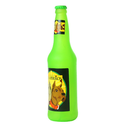 SILLY SQUEAKER Beer Bottle Barks - Dos Perros<br/>涼狗啤酒咬咬玩具 - Shark Tank Taiwan