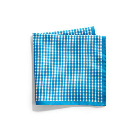 Saks Fifth Avenue Collection - Gingham & Paisley Silk Pocket Square