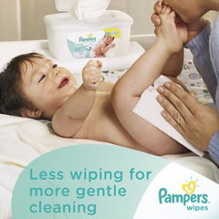 Pampers Sensitive Baby Wipes Refill - 448ct 增厚濕紙巾 - Shark Tank Taiwan 歐美時尚生活網