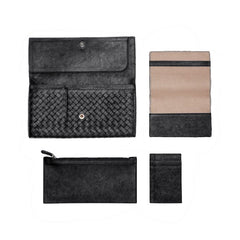 Bottega Veneta - Intrecciato Washed Lambskin Document Case - Shark Tank Taiwan