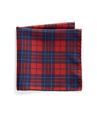 Saks Fifth Avenue Collection - Plaid & Polka Dot Silk Pocket Square (共5色) - Shark Tank Taiwan