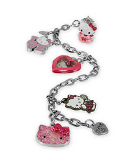 CHARM IT! - Girl's Six-Piece Hello Kitty Bracelet & Charms Gift Set - Shark Tank Taiwan