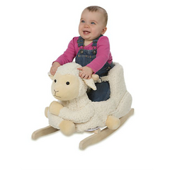 Alex Toys - Lamb Plush Rocker - Shark Tank Taiwan