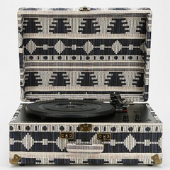 Crosley AV Room Geo Fabric Record Player - Shark Tank Taiwan