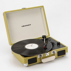 Crosley Cruiser Briefcase Portable Record Player (共5色) - Shark Tank Taiwan