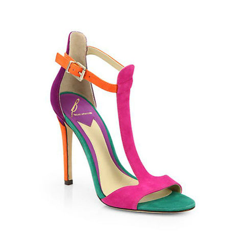 B Brian Atwood - Leigha T-Strap Sandals