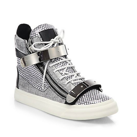 Giuseppe Zanotti - Scribble High-Top Sneakers