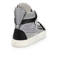 Giuseppe Zanotti - Scribble High-Top Sneakers - Shark Tank Taiwan