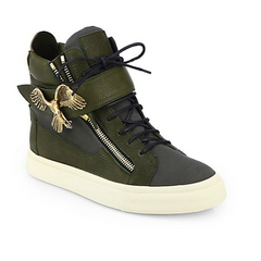 Giuseppe Zanotti - Eagle High-Top Sneakers - Shark Tank Taiwan