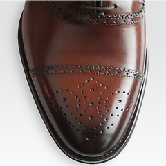 To Boot New York - Truman Cap-Toe Perforated Lace-Ups - Shark Tank Taiwan