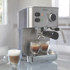 Capresso -  EC PRO Espresso and Cappuccino Machine - Shark Tank Taiwan
