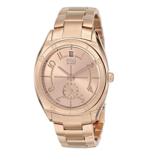 ESQ - by Movado Women's Origin Rose Gold Ion-plated Stainless Steel Watch - Shark Tank Taiwan