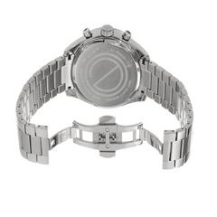ESQ Movado - Men's Swiss Chronograph Catalyst Stainless Steel Bracelet 45mm 07301429 - Shark Tank Taiwan