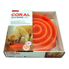 OUTWARD HOUND Coral Slow Feeder<br/>珊瑚慢食碗 (大) - Shark Tank Taiwan