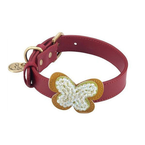 DOSHA DOG Butterfly Collection</br>蝴蝶系列 項圈 (共3色) - Shark Tank Taiwan