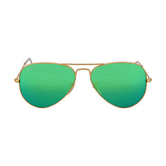 RAY BAN -  Original Aviator Green Flash Polarized Sunglasses - Shark Tank Taiwan
