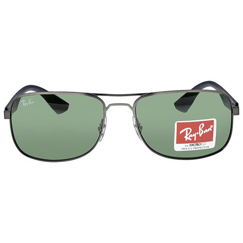 RAY BAN - Square Green Classic Frame Sunglasses