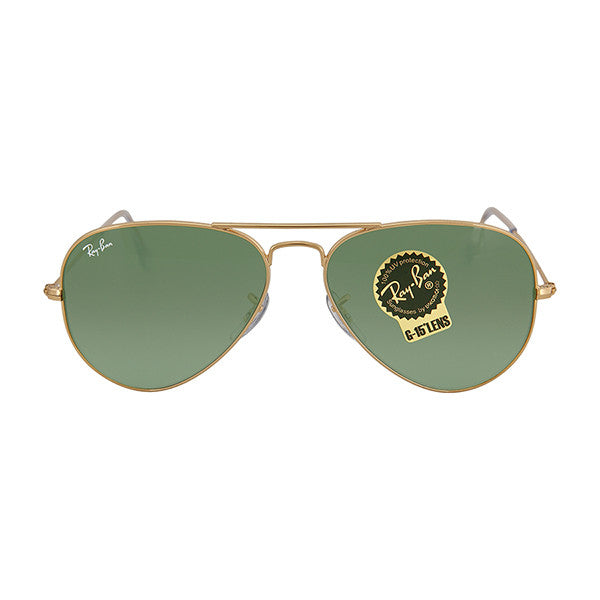 RAY BAN - Aviator Arista Green 55 mm Sunglasses - Shark Tank Taiwan