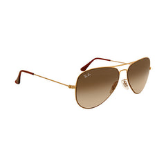 RAY BAN - Aviator Brown Gradient 58mm Sunglasses - Shark Tank Taiwan