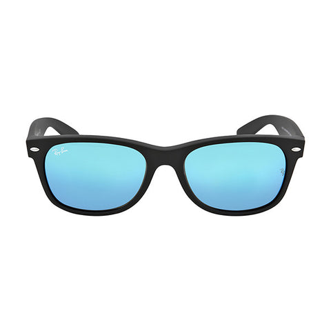 RAY BAN -  New Wayfarer Blue Gradient Lens 55mm Men's Sunglasses