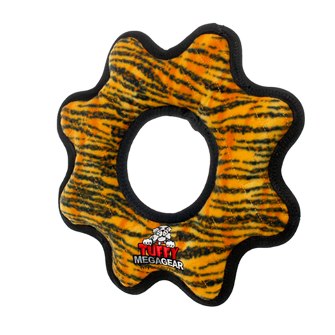 TUFFY Mega Gear Ring - Large</br>耐咬齒輪玩具 - 大 (共3色) - Shark Tank Taiwan