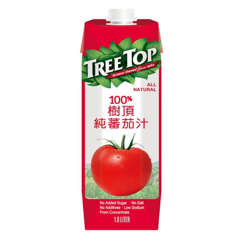 TREE TOP All Natural Tomato Juice<br/>樹頂100%純番茄汁 1L (24入/組)