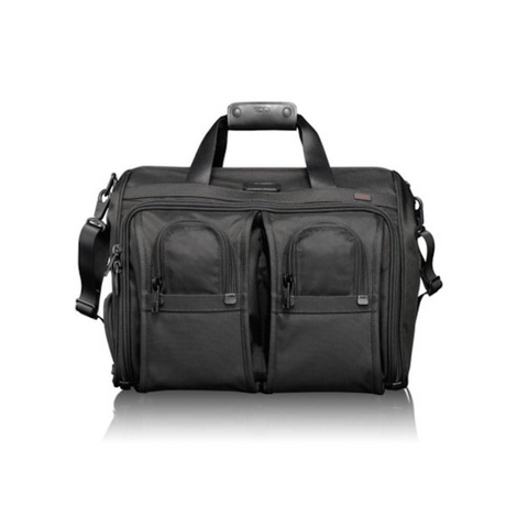 Tumi - Alpha Deluxe Carry-On Satchel Bag