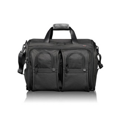 Tumi - Alpha Deluxe Carry-On Satchel Bag - Shark Tank Taiwan