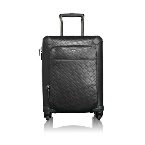 Tumi - Ticon International Leather Zipper Carry-On - Shark Tank Taiwan