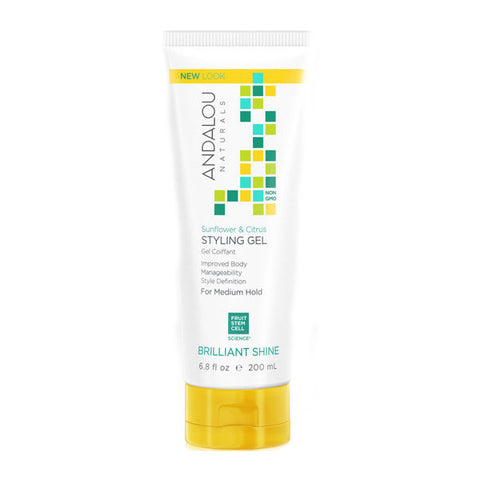 ANDALOU - Sunflower & Citrus Medium Hold Styling Gel <br/>柑橘葵花亮麗造型膠 200ml