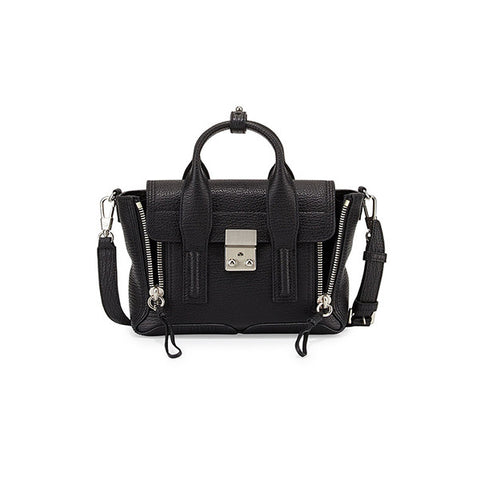 3.1 PHILLIP LIM Pashli Mini Satchel (AC00-0226SKC-BLACK-NICKEL)