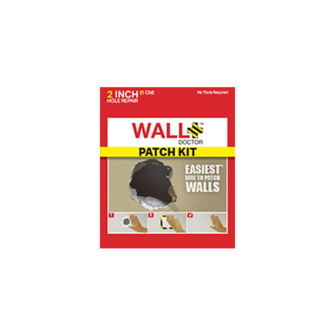 WALL DOCTOR 2 Inch Drywall Repair Patch Kit<br/>美國牆壁修補救星 5cm - Shark Tank Taiwan